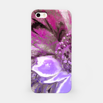 In Sunlight, Petunia Reflections iPhone Case thumbnail image
