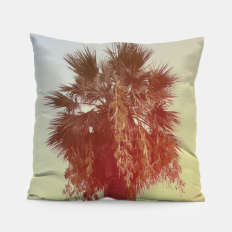 Miniatur Palm trees Pillow, Live Heroes