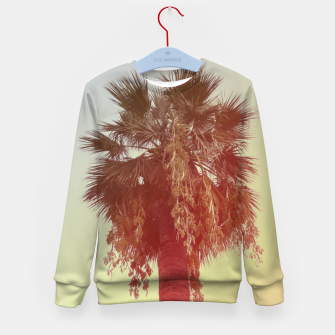 Miniatur Palm trees Kid's sweater, Live Heroes