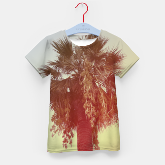 Miniatur Palm trees Kid's t-shirt, Live Heroes