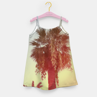 Miniatur Palm trees Girl's dress, Live Heroes