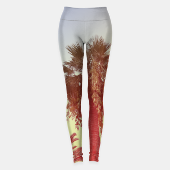 Miniatur Palm trees Leggings, Live Heroes