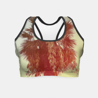 Miniatur Palm trees Crop Top, Live Heroes