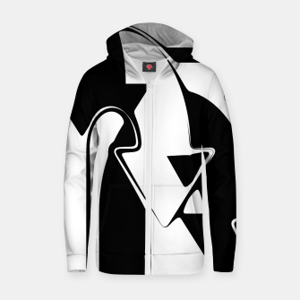 Thumbnail image of C U Round Zip up hoodie, Live Heroes