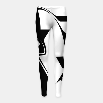 Thumbnail image of C U Round Girl's leggings, Live Heroes