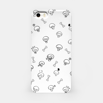 Thumbnail image of Expressive Skulls - white - iPhone Case, Live Heroes