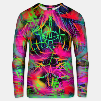 Thumbnail image of Jabo (abstract, primitive, modern art) Unisex sweater, Live Heroes