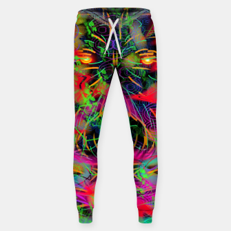 Thumbnail image of Jabo (abstract, primitive, modern art) Sweatpants, Live Heroes