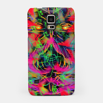 Thumbnail image of Jabo (abstract, primitive, modern art) Samsung Case, Live Heroes