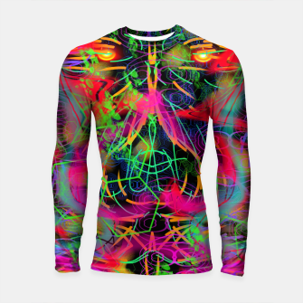 Thumbnail image of Jabo (abstract, primitive, modern art) Longsleeve rashguard , Live Heroes