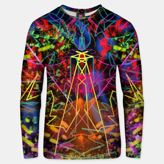 Miniaturka Blowing Fire (abstract, primitive, modern) Unisex sweater, Live Heroes