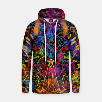 Miniaturka Blowing Fire (abstract, primitive, modern) Hoodie, Live Heroes