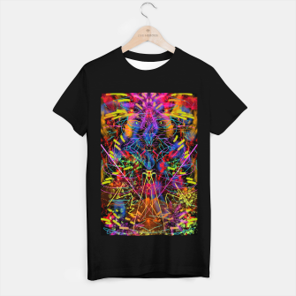 Miniaturka Blowing Fire (abstract, primitive, modern) T-shirt regular, Live Heroes