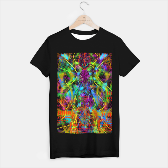 Thumbnail image of Teeth Chattering Rhythms (abstract, modern, primitive) T-shirt regular, Live Heroes