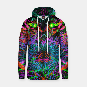 Thumbnail image of Quantobit's Exhalation (psychedelic, primitive, abstract) Hoodie, Live Heroes