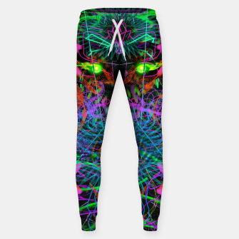 Thumbnail image of Quantobit's Exhalation (psychedelic, primitive, abstract) Sweatpants, Live Heroes