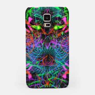 Thumbnail image of Quantobit's Exhalation (psychedelic, primitive, abstract) Samsung Case, Live Heroes