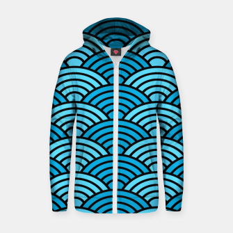 Thumbnail image of Pattern 13 Zip up hoodie, Live Heroes