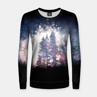 Thumbnail image of Space Aura  Women sweater, Live Heroes