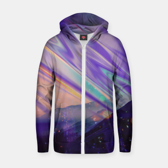 Thumbnail image of Mind Warp Zip up hoodie, Live Heroes