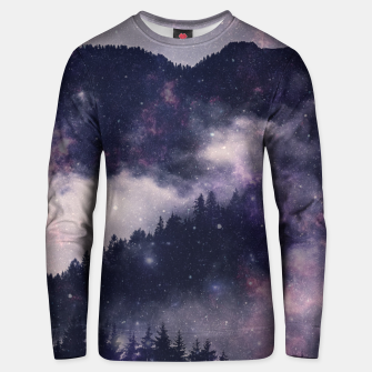 Thumbnail image of Dark Forest Unisex sweater, Live Heroes