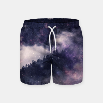 Thumbnail image of Dark Forest Swim Shorts, Live Heroes
