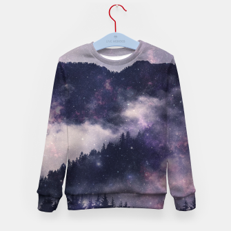 Thumbnail image of Dark Forest Kid's sweater, Live Heroes