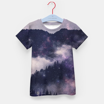 Thumbnail image of Dark Forest Kid's t-shirt, Live Heroes