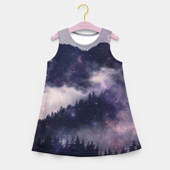 Dark Forest Girl's summer dress thumbnail image