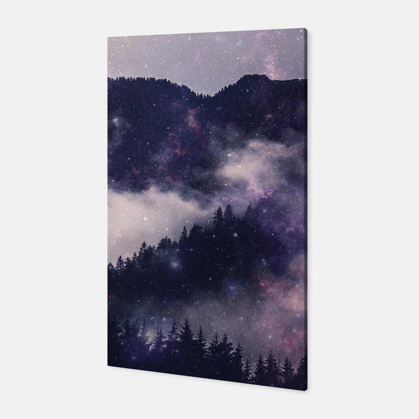 Image of Dark Forest Canvas - Live Heroes