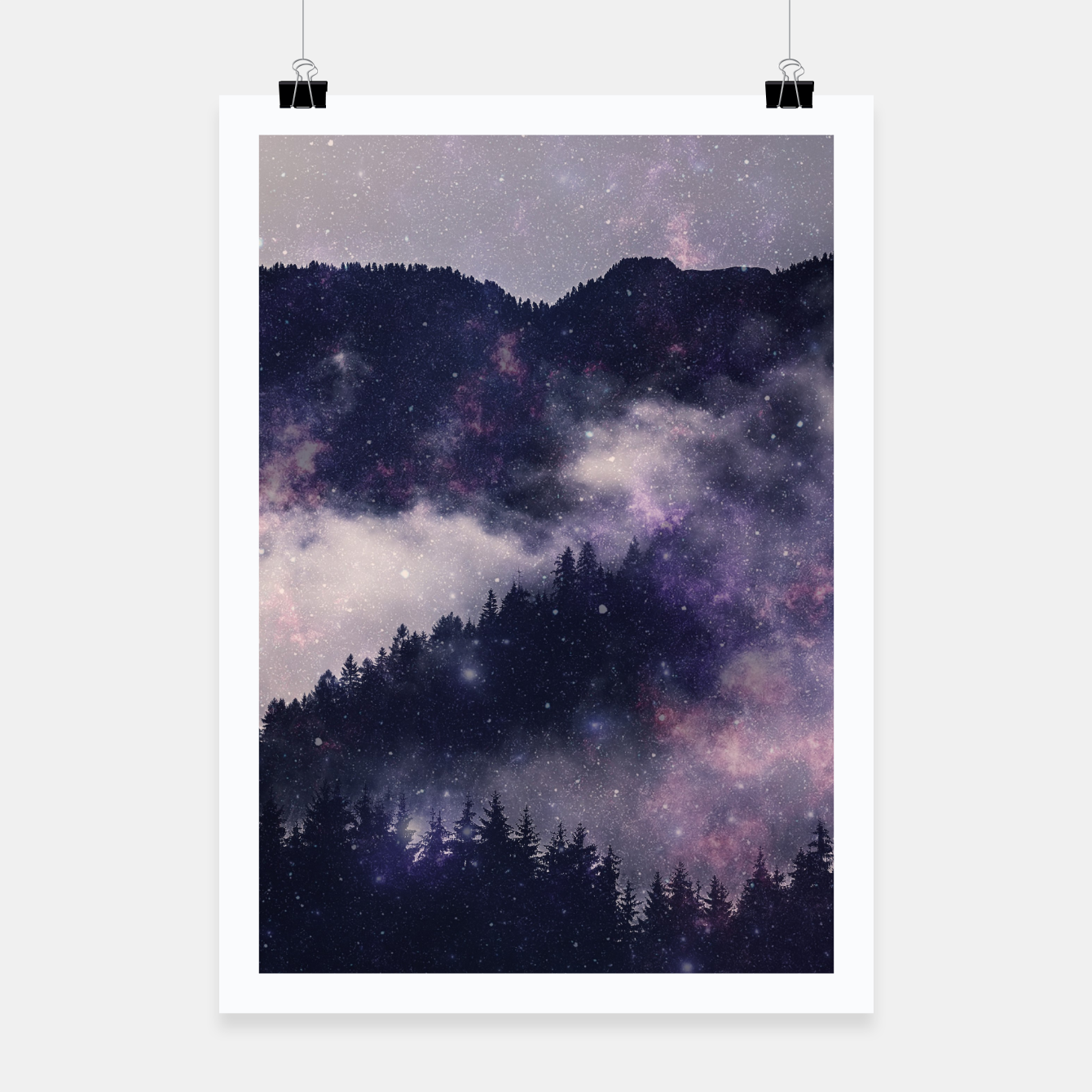 Image of Dark Forest Poster - Live Heroes