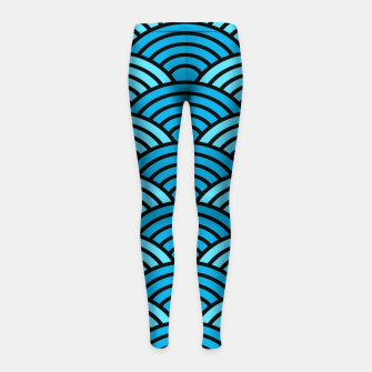 Thumbnail image of Pattern 13 Girl's leggings, Live Heroes