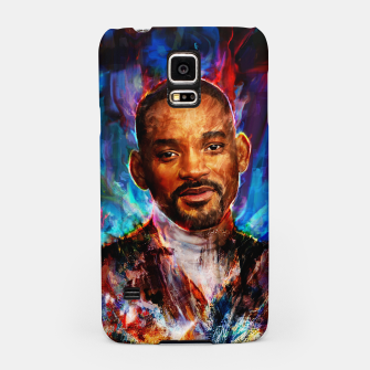 Miniatur will smith Samsung Case, Live Heroes