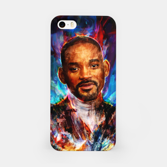Miniatur will smith iPhone Case, Live Heroes