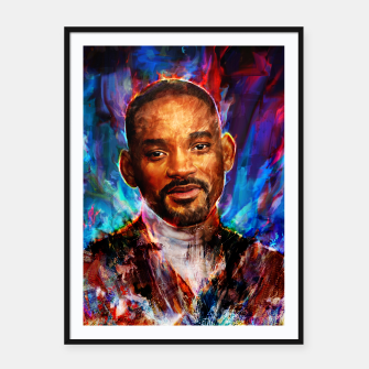 Miniatur will smith Framed poster, Live Heroes