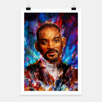 Miniatur will smith Poster, Live Heroes