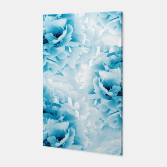 Thumbnail image of Blue Peonies Dream #1 #floral #decor #art  Canvas, Live Heroes
