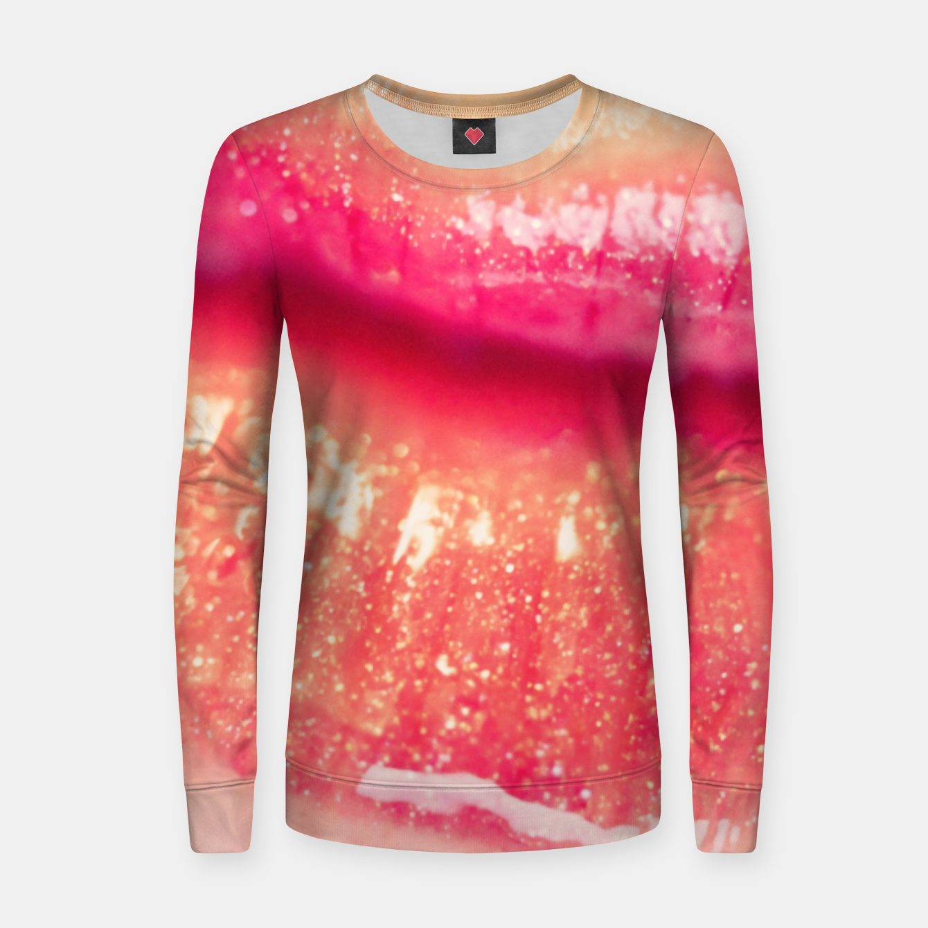 Image of lips #1 Women sweater - Live Heroes
