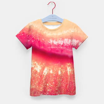 Thumbnail image of lips #1 Kid's t-shirt, Live Heroes