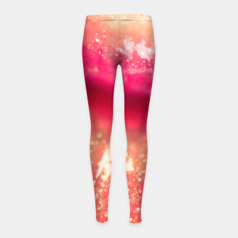 Thumbnail image of lips #1 Girl's leggings, Live Heroes