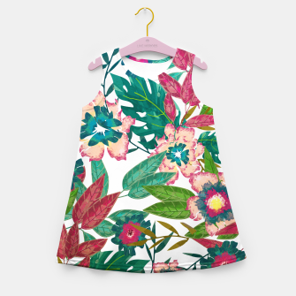 Thumbnail image of Floral Mood Girl's summer dress, Live Heroes