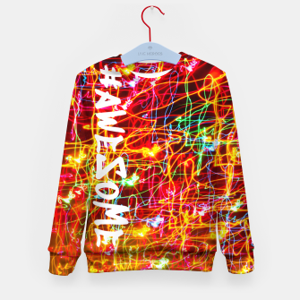 Thumbnail image of #Awesome Kid's sweater, Live Heroes