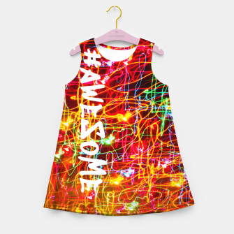 Miniature de image de #Awesome Girl's summer dress, Live Heroes