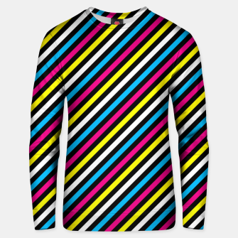 Thumbnail image of Colourfull Stripes Unisex sweater, Live Heroes