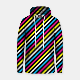 Thumbnail image of Colourfull Stripes Hoodie, Live Heroes