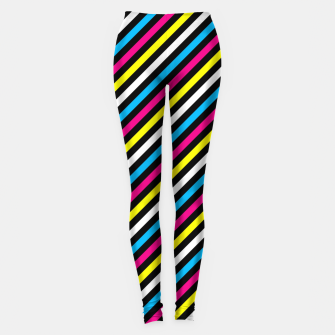 Thumbnail image of Colourfull Stripes Leggings, Live Heroes
