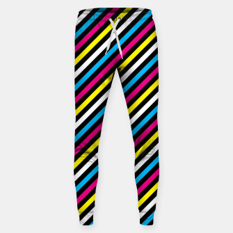 Thumbnail image of Colourfull Stripes Sweatpants, Live Heroes