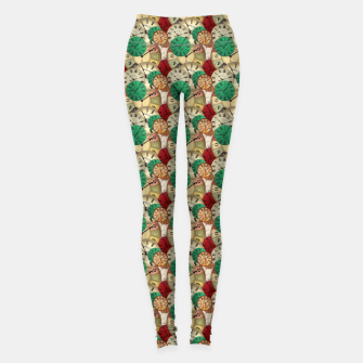 Thumbnail image of  Vintage clock Leggings, Live Heroes