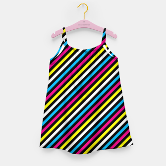 Thumbnail image of Colourfull Stripes Girl's dress, Live Heroes