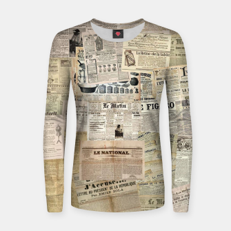 newspaper Women sweater thumbnail image